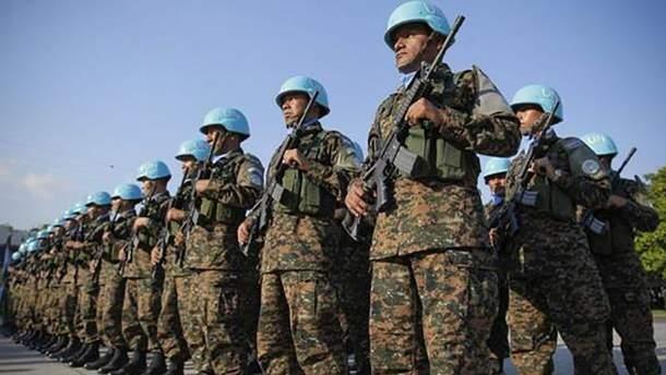 Миротворческий контингент (иллюстрация)