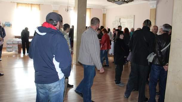 Сторонники николаевского городского головы в мэрии