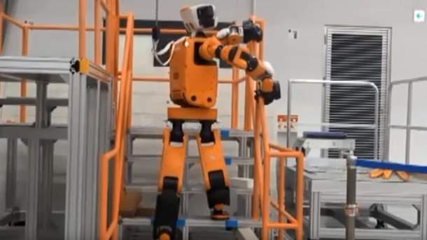 Человекоподобный робот-спасатель