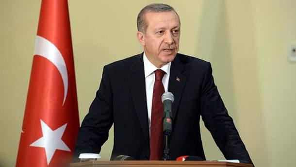 Ердоган відвідає Україну