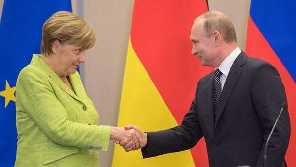 Меркель повинна зменшити вплив Путіна у Східній Європі