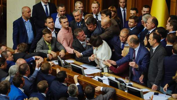 В інтернеті критикують Верховну Раду після засідання 5 жовтня