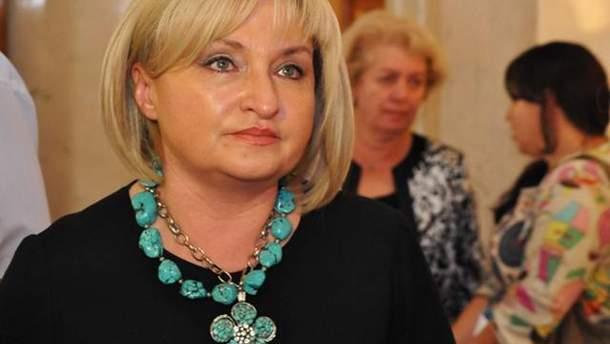 Ірина Луценко повідомила, що Рада 6 жовтня проголосує проект щодо реінтеграції Донбасу