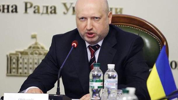 Турчинов розкритикував депутатів за блокування голосування законопроекту про окупований Донбас