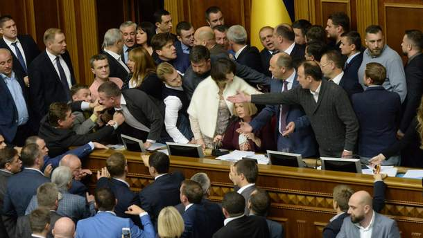 Рада 6 жовтня продовжить розгляд законопроектів щодо реінтеграції Донбасу