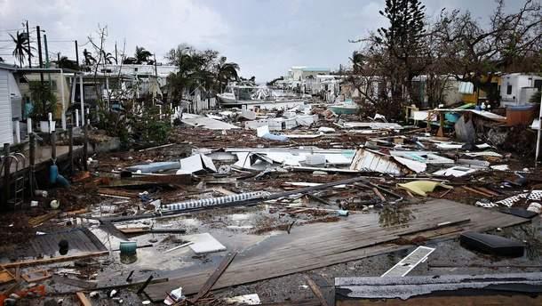 """Тропический шторм """"Нейт"""""""