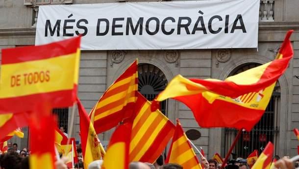 Референдум у Каталонії вдарить по економіці регіону