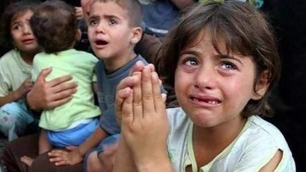 Отчет ООН о количестве пострадавших детей