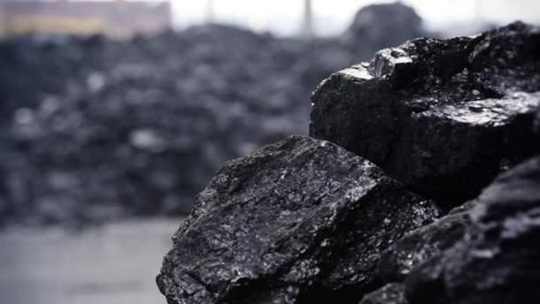 Уголь из оккупированного Донбасса