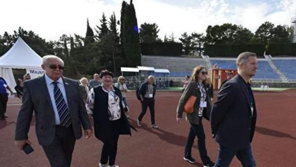 Депутаты и политики из Норвегии в Крыму