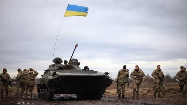 Українці не відкривають вогонь першими
