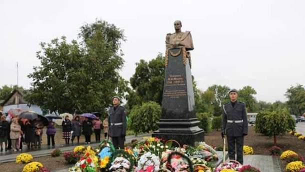 В Одесской области открыли памятник российскому генералу