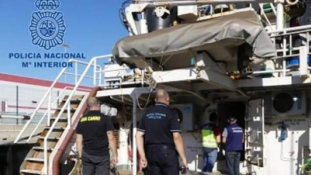 Полиция Испании перехватила большую контрабанду