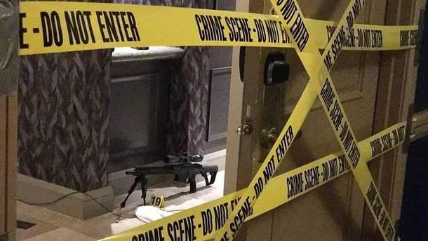 В Лас-Вегасе в номере стрелка нашли записку
