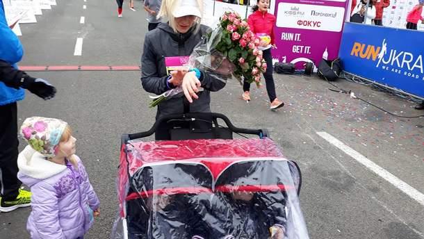 Украинка установила национальный рекорд во время марафона в Киеве
