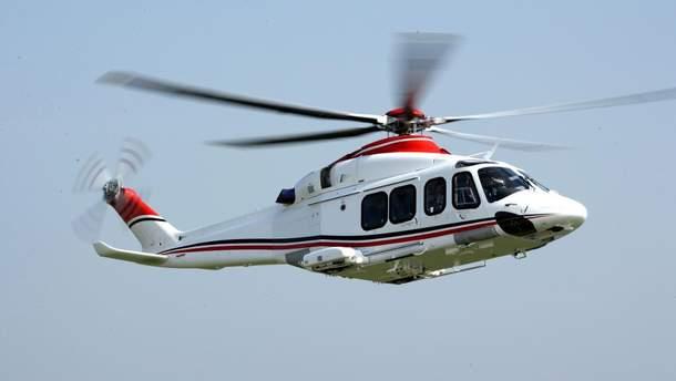 В Латвии разбился вертолет