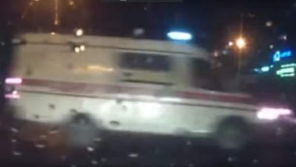 Авария со скорой произошла в Одессе