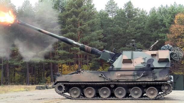 Польская артиллерийская самоходная установка Krab