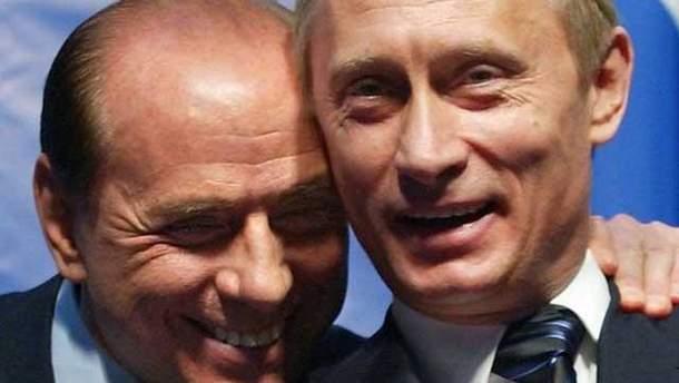 Сільвіо Берлусконі зробив незвичний подарунок Володимиру Путіну