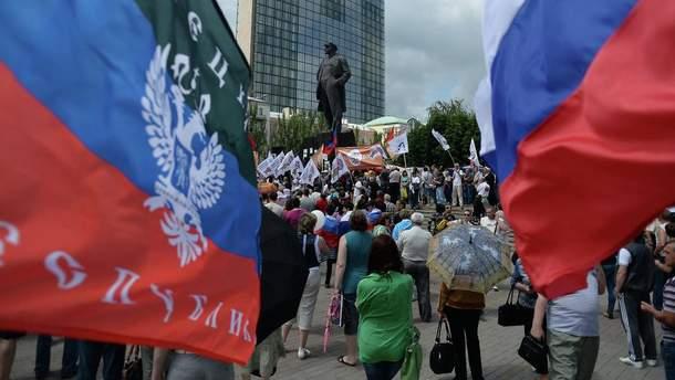 Росія підтримує Донбас як у фінансовому, так і військовому плані