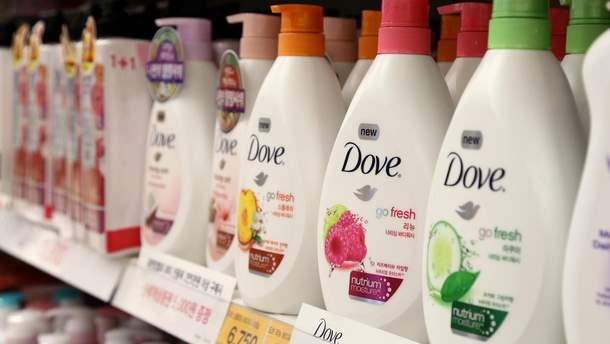 Косметичний бренд Dove