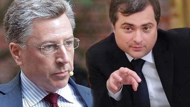О чем говорили Волкер и Сурков в Белграде?