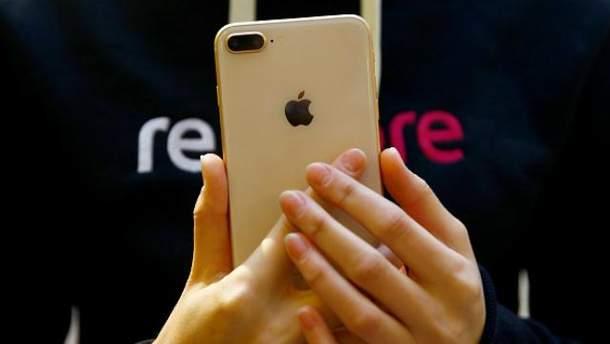 В iPhone 8 Plus обнаружили недостаток с батареей