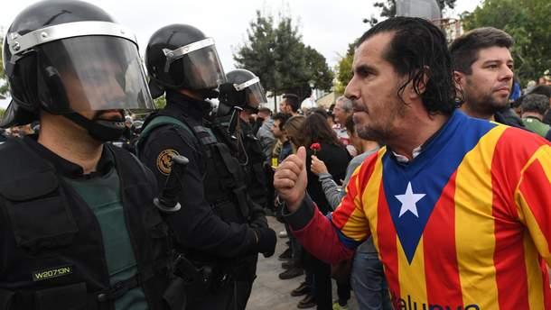 Каталония хочет независимости, между тем в Крыму ситуация была более сложной