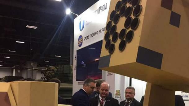 """""""Укроборонпром"""" принял участие в выставке вооружений в Вашингтоне"""