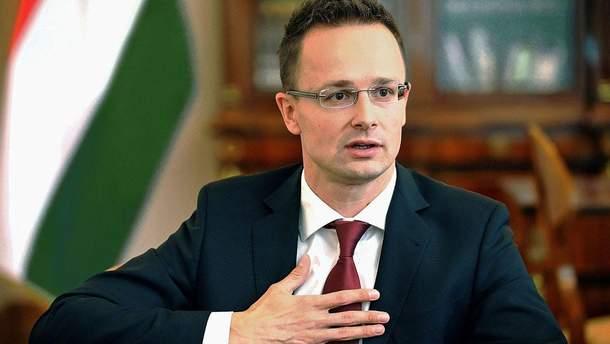 Глава МЗС Угорщини відмовився зустрітись з Клімкіним