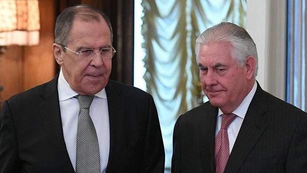 Лавров застеріг Тіллерсона щодо  загострення конфлікту із Північною Кореєю