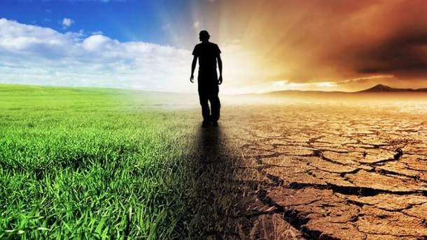 Україна починає відчувати вплив глобального потепління