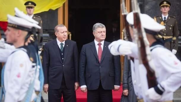 Раджеп Ердоган і Петро Порошенко