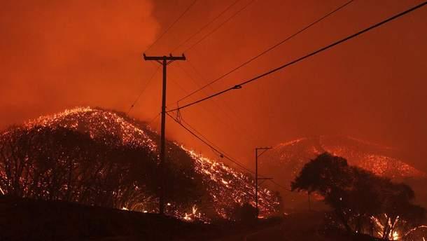 """Результат пошуку зображень за запитом """"фото пожежі в Каліфорнії"""""""