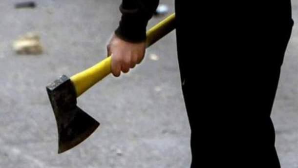 Нападение с топором на сотрудницу прокуратуры Черниговщины