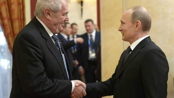 Президент Чехии Земан рассчитывает на экономические приоритеты от России