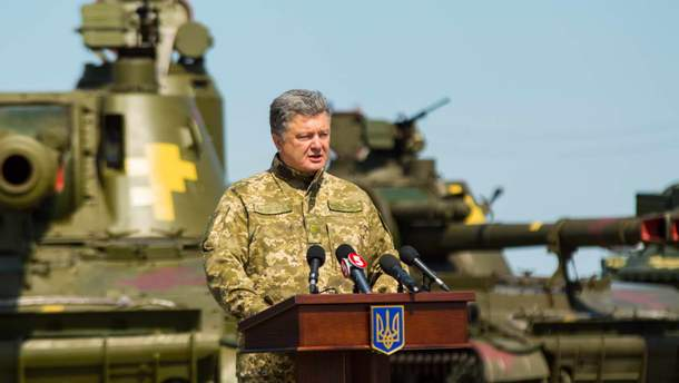 Петро Порошенко є Верховним Головнокомандувачем Збройних Сил України