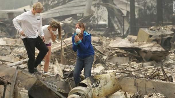 Лісова пожежа у Каліфорнії