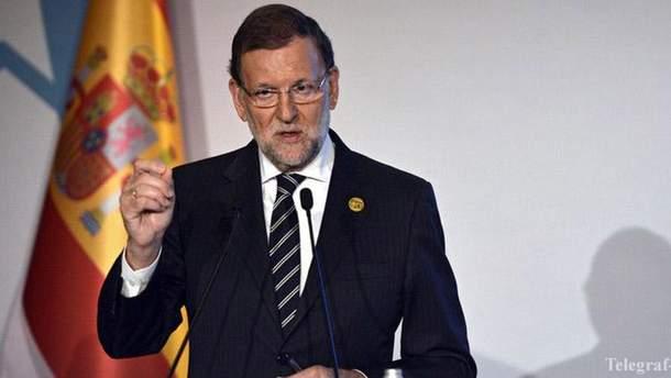 Прем'єр-міністр Іспанії Маріано Рахой