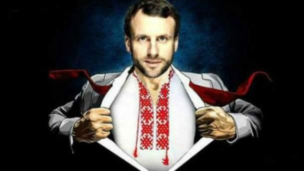 На президентских выборах в Украине победит человек, вроде Макрона