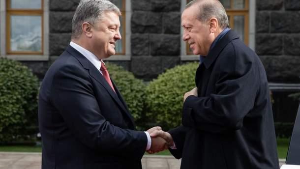 Україну з офіційним візитом відвідав президент Туреччини