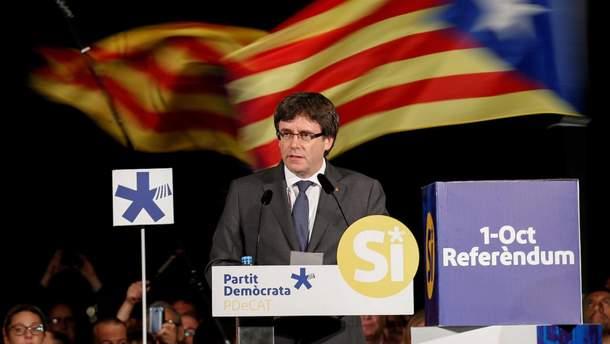 Глава Каталонии Пучдемон напоминает капитана корабля, который неустанно идет ко дну