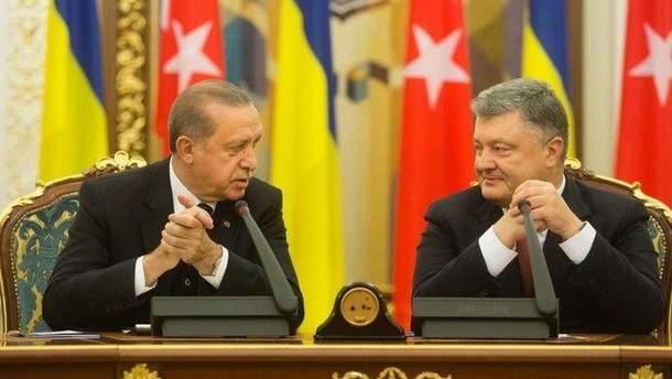 Російські ЗМІ в'їдливо прокоментували зустріч Порошенка і Ердогана