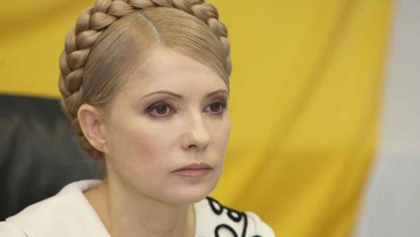 Тимошенко заявила про намір балотуватися на пост президента