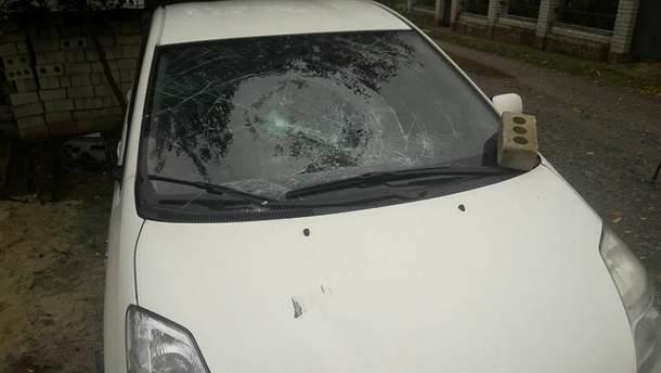 Побитое авто
