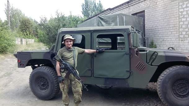 Командир 109-го отдельного батальона 10 отдельной горно-штурмовой бригады Роман Позняк