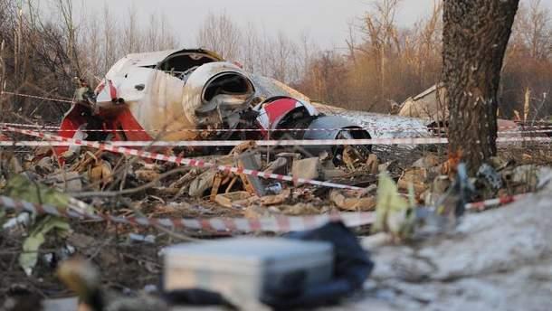 Польская комиссия обнаружила запись взрыва на самописце самолета Леха Качинского