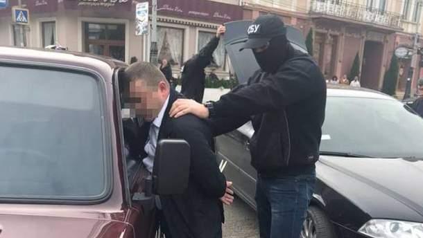 Задержание полицейского-взяточника