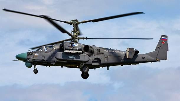 Боевой вертолет обстрелял склад во время учений