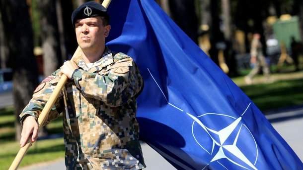 Військові навчання НАТО в Латвії